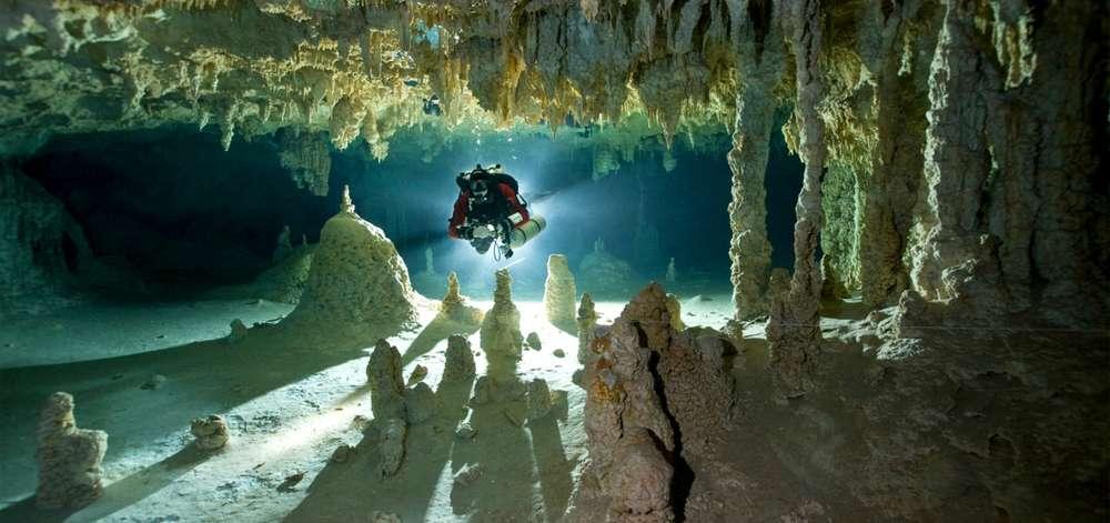 Plongée cénote, Mexique