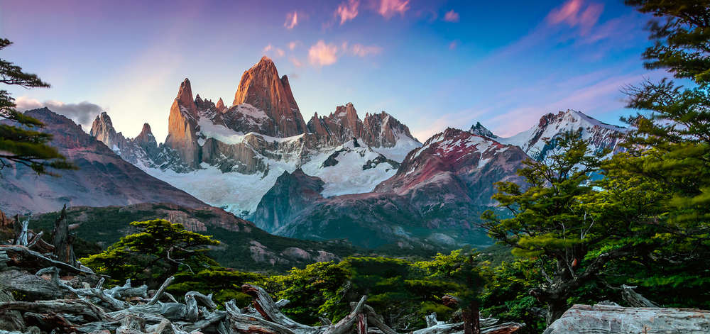 Mont Fitz Roy, Andes