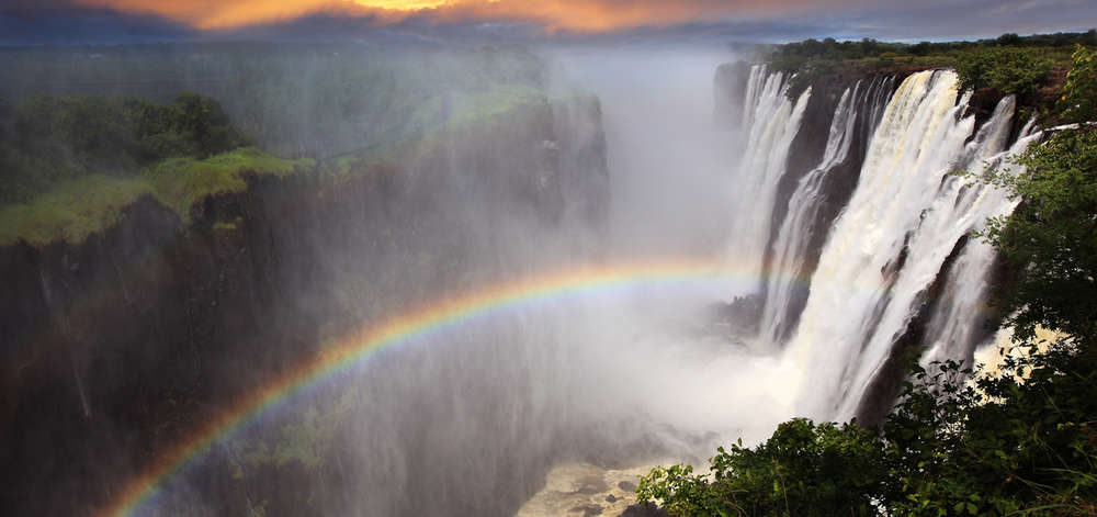 Chutes Victoria côté Zimbabwe