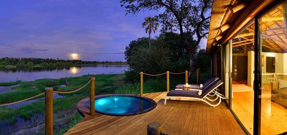 Hôtel de Luxe à Victoria Falls