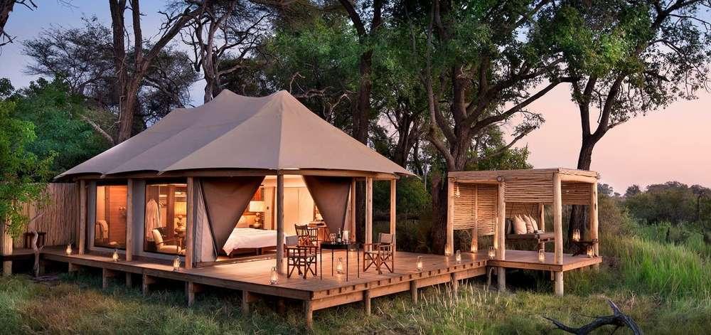 Tented Camp de Luxe dans le Delta