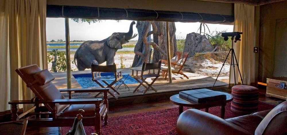 Tented Camp de Charme à Makgadikgadi