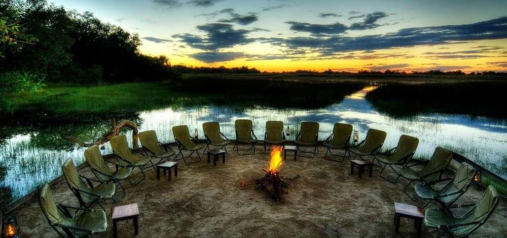 Camp de Luxe dans le Delta de l'Okavango