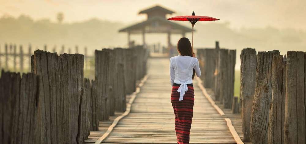 U-bein, Birmanie