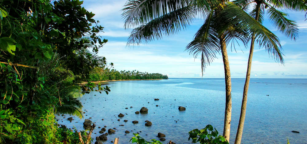 Côte de Lavena, Taveuni