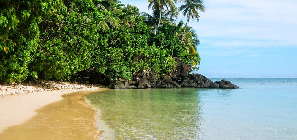 Plage de Lavena, Taveuni