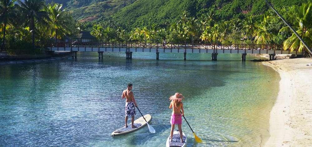 hôtel de luxe Moorea, Polynésie