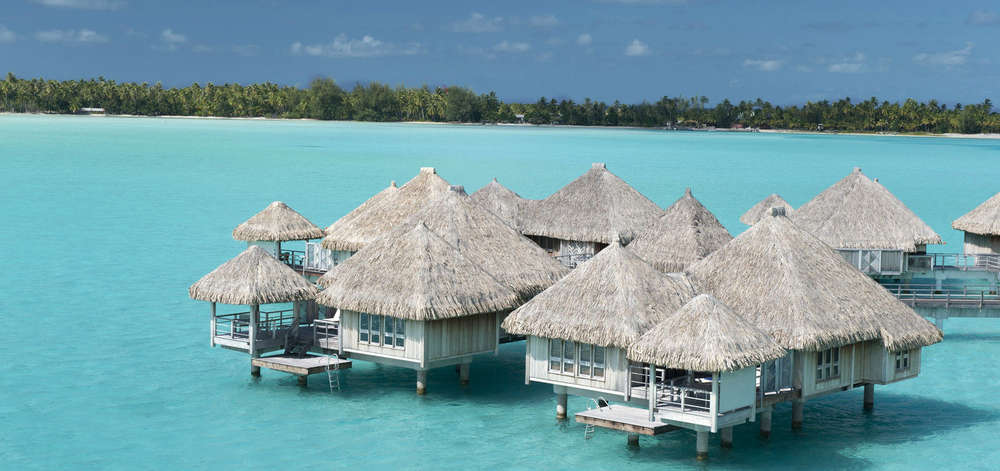 hôtel de luxe Bora Bora, Polynésie