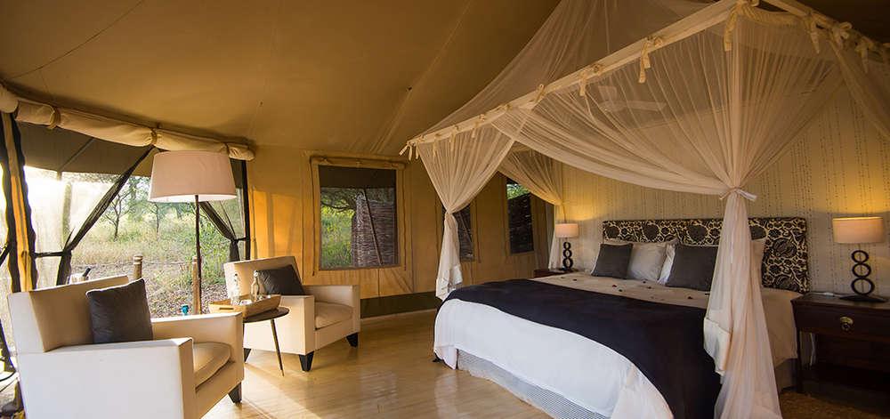 Camp de Luxe dans le Tarangire