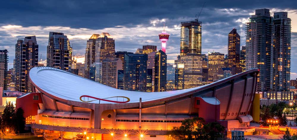 Saddledome, Calgary