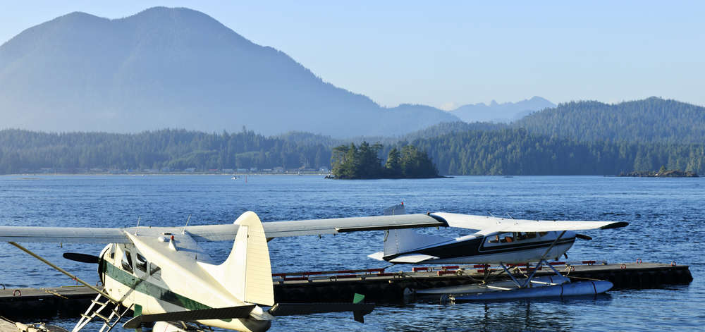 Port d'hydravions, Tofino, Vancouver Island