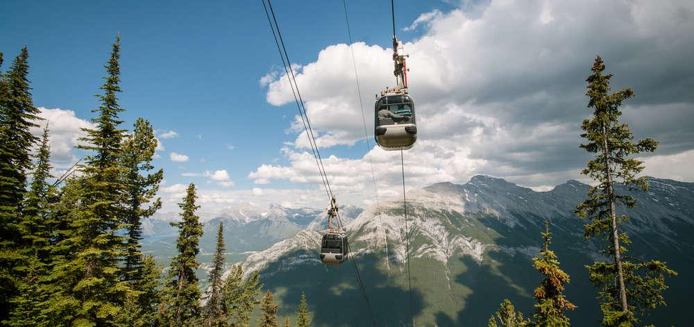Télécabine, Banff National Park