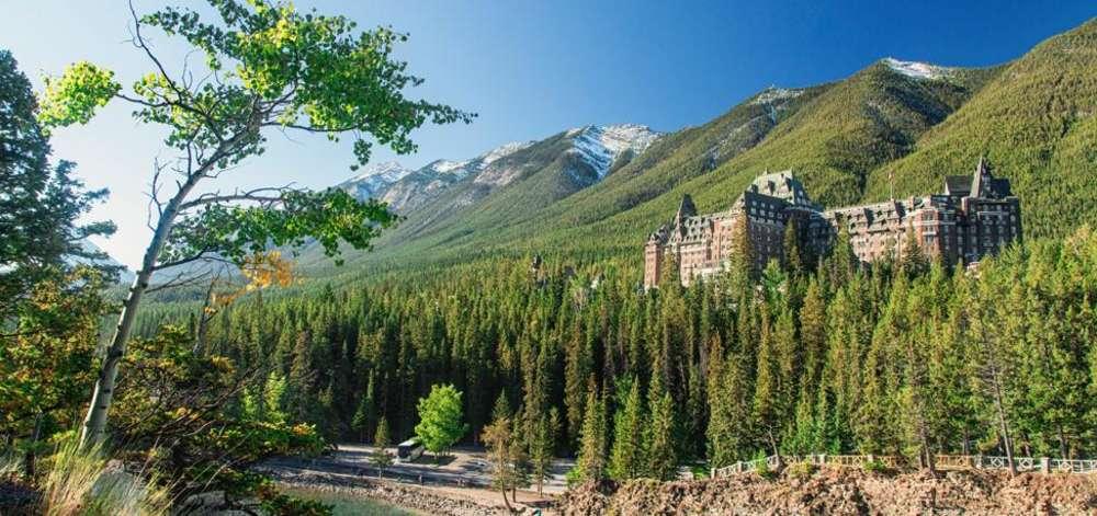 Hôtel de luxe, Banff National Park