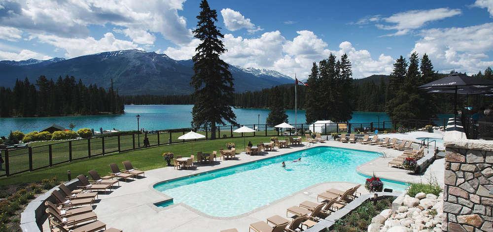 Hôtel de luxe, Jasper National Park