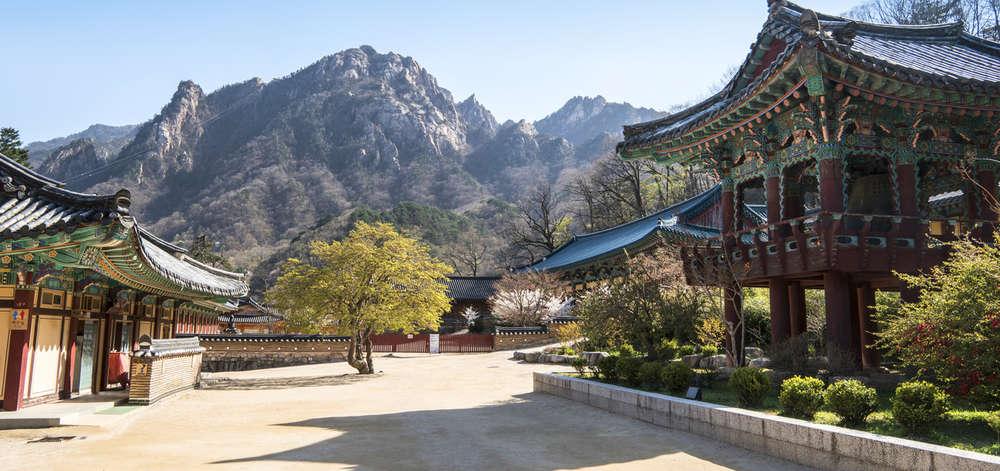 parc du Seoraksan, Corée du Sud