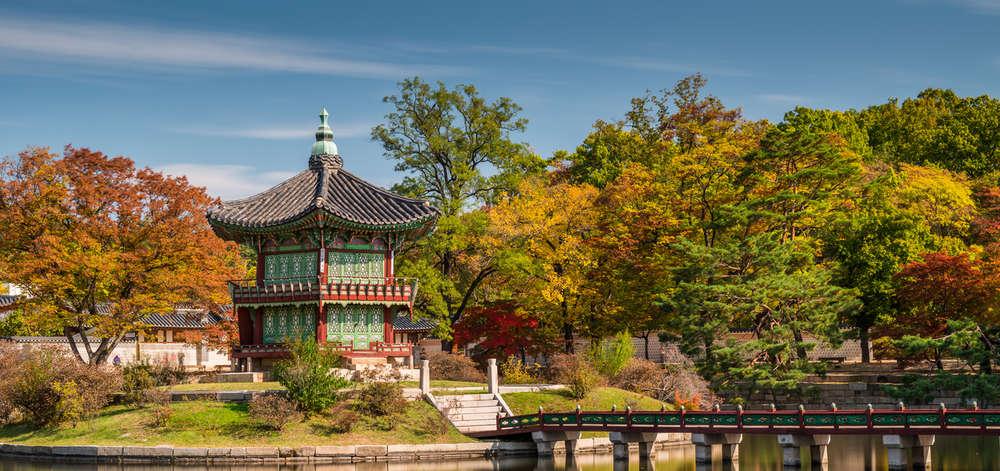 Gyeonbokgung, Séoul, Corée du Sud