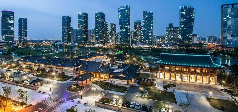 hôtel de luxe, Incheon