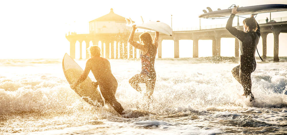 Surfeurs, Los Angeles