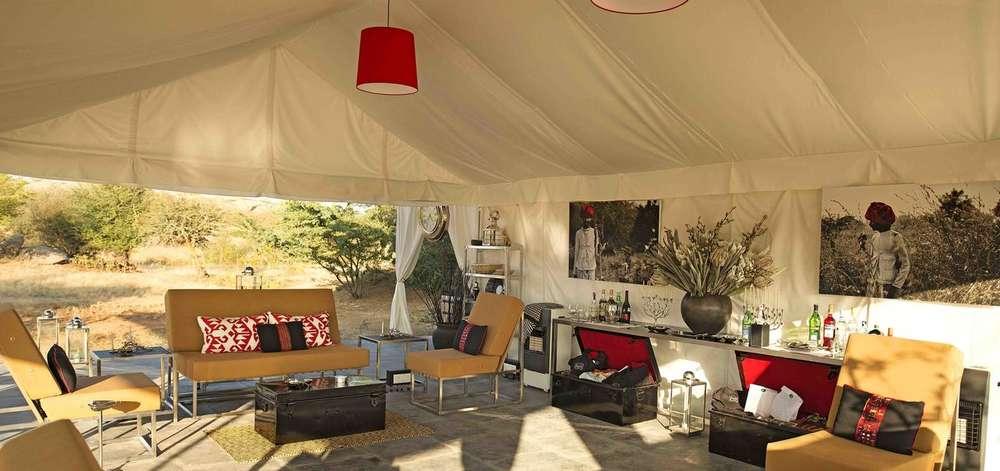 lodge de luxe, safari ''léopards''