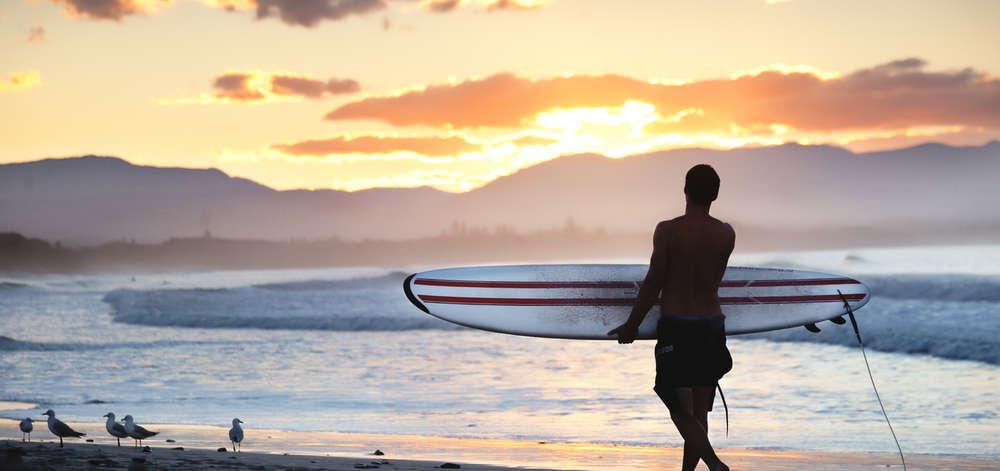Surfeur, Byron Bay