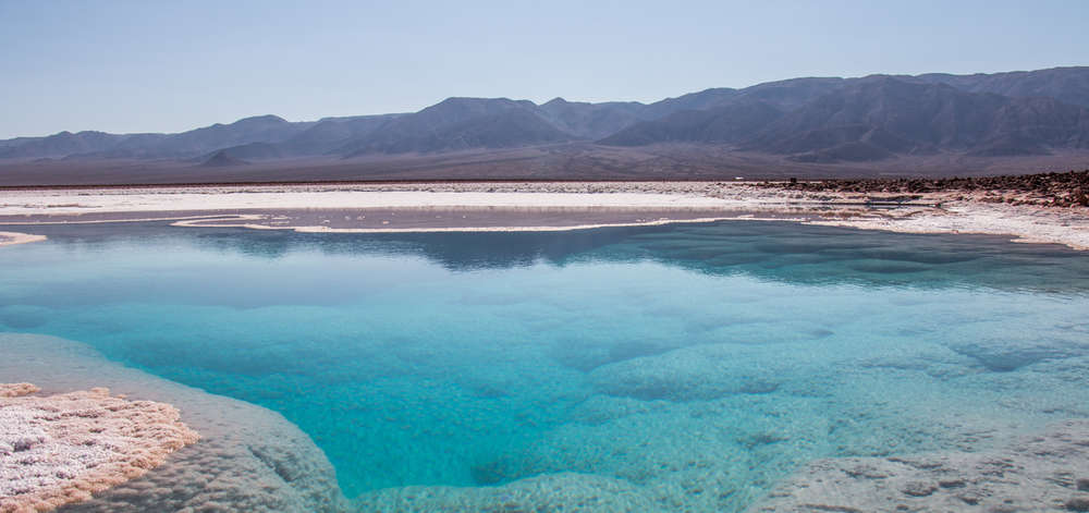Lagune du désert de l'Atacama