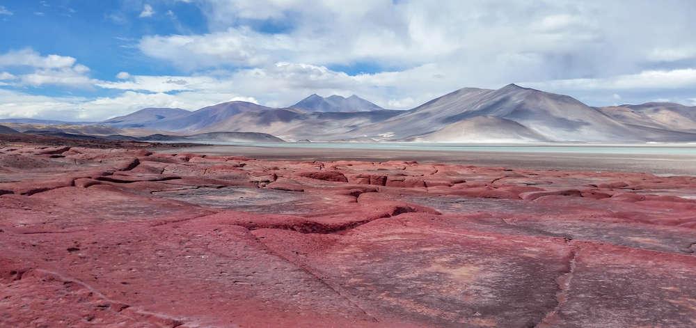 Piedras Rojas, Altiplano