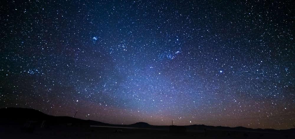 Ciel étoilé du désert de l'Atacama