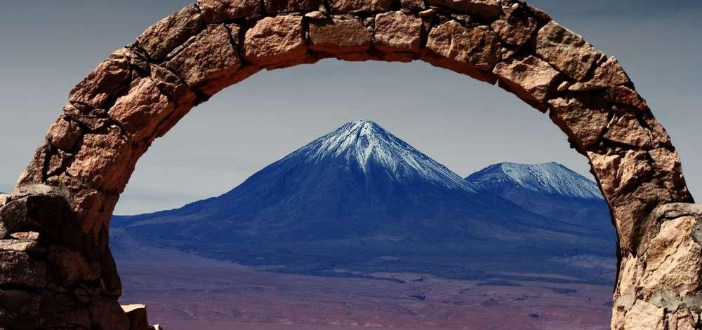 Volcan du désert de l'Atacama